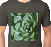Petalled Succulent - Agave Unisex T-Shirt