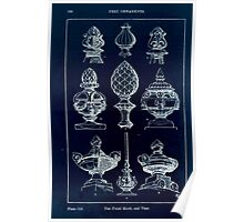 A Handbook Of Ornament With Three Hundred Plates Franz Sales Meyer 1896 0196 Free Ornaments Finial Knob Vase Inverted Poster