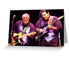 Guitarists Greeting Card