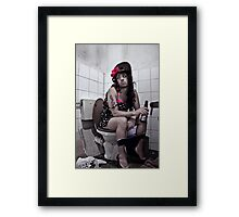 Andy Winehouse - Time out Framed Print