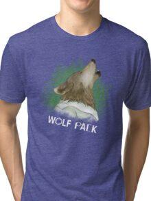 Wolf Pack Tri-blend T-Shirt