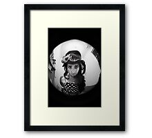 Andy Winehouse - Knock knock Framed Print