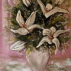 Tiger Lilies in a Vase by Cherie Roe Dirksen