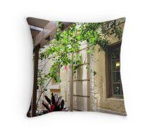 Biltmore Hotel Garden Throw Pillow