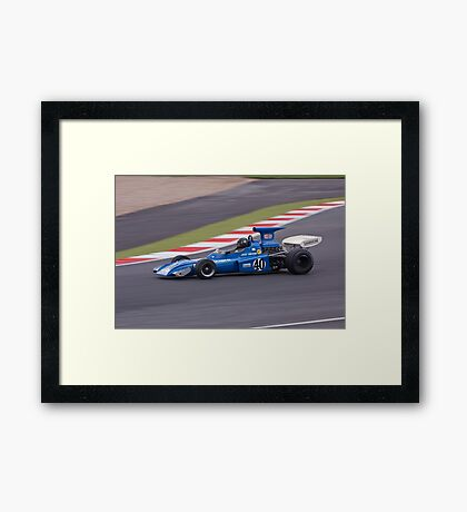 March 721 Framed Print