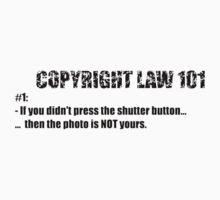 COPYRIGHT 101 #1 -  by BYRON