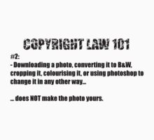 COPYRIGHT 101 #2 - by BYRON