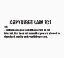 COPYRIGHT 101 #4 - by BYRON