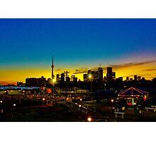 Cn tower Sunset  Photographic Print