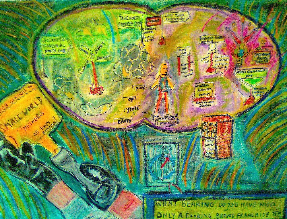 """Entry for Small World Comp..""""Global Positioning"""" by Dante 8/8/10 by tim norman"""