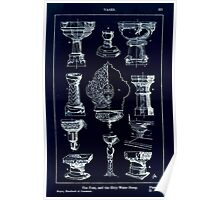 A Handbook Of Ornament With Three Hundred Plates Franz Sales Meyer 1896 0337 Vases Font Holy Water Stoup Inverted Poster