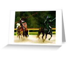Clash of the Titans Greeting Card