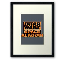 Jafar Wars: Space Aladdin Framed Print