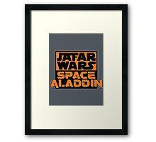 Jafar Wars: Space Aladdin Framed Print