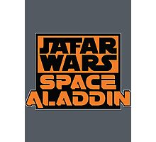 Jafar Wars: Space Aladdin Photographic Print