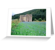 Through the Linseed Greeting Card