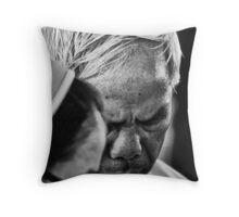 Deep in Prayer Throw Pillow