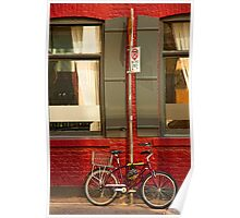 Graf Bobby Bicycle Poster
