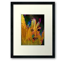 Portrait. Nude. Framed Print