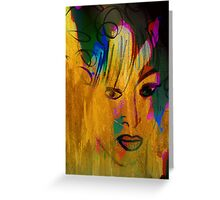 Portrait. Nude. Greeting Card