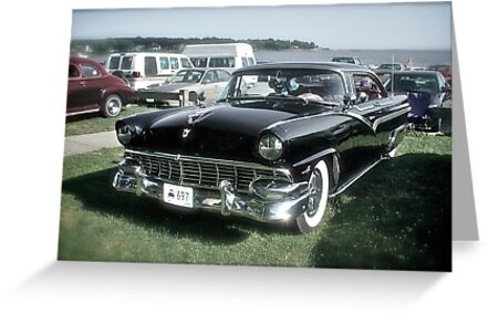 1956 Ford Fairlane - Custom Classic Cars Series by Jack McCabe