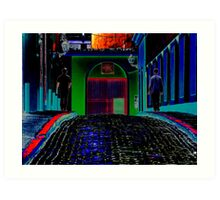 Pop Old San Juan Art Print