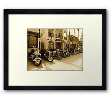 Bikers Week Framed Print