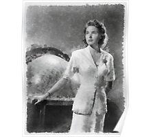 Ingrid Bergman by John Springfield Poster