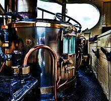 Steam Engine by Alan E Taylor