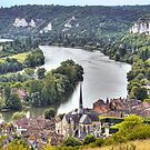 Le Petit-Andely and The Seine Banks by paolo1955