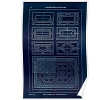 A Handbook Of Ornament With Three Hundred Plates Franz Sales Meyer 1896 0038 Geometrical Elements Oblong Subdivision Inverted Poster