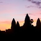 Cambodian sunrise by Alexander Kok