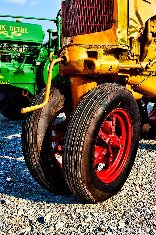 Antique Case Tractor by intfactory