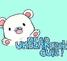 unBEARably Cute Polar Bear by charsheee