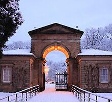 Winter Snow at Sewerby Hall by Craig Bradley