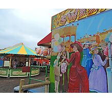 Old Fashioned Fairground Photographic Print