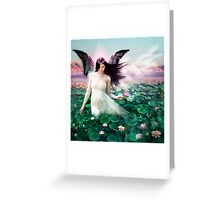 The Lotus Faerie Greeting Card