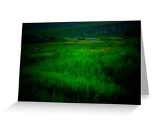 Twighlight Grasslands Greeting Card