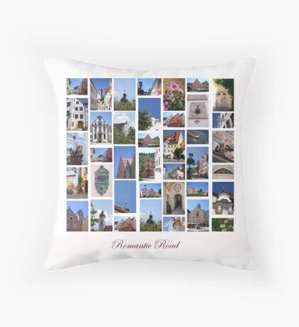 Romantic Road to Füssen Throw Pillow