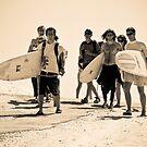 Beach boys & girls by Alexander Kok