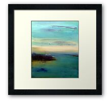 dream of sea Framed Print