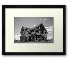 Long Forgotten Home Framed Print