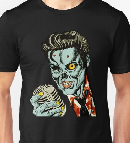 Zombie Elvis (Hail to the King, Baby) Unisex T-Shirt