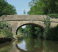 Reflections - Kennet & Avon Canal by Meladana