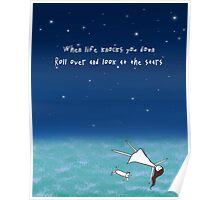 Look At The Stars Poster