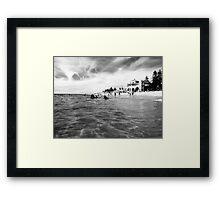 Cottesloe Beach Framed Print