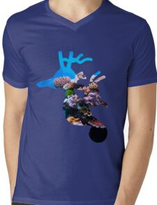 Kingdra used dive Mens V-Neck T-Shirt
