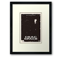 Dead Space Poster Framed Print