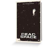 Dead Space Poster Greeting Card