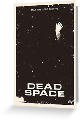 Dead Space Poster by Jens A. Larsen Aas